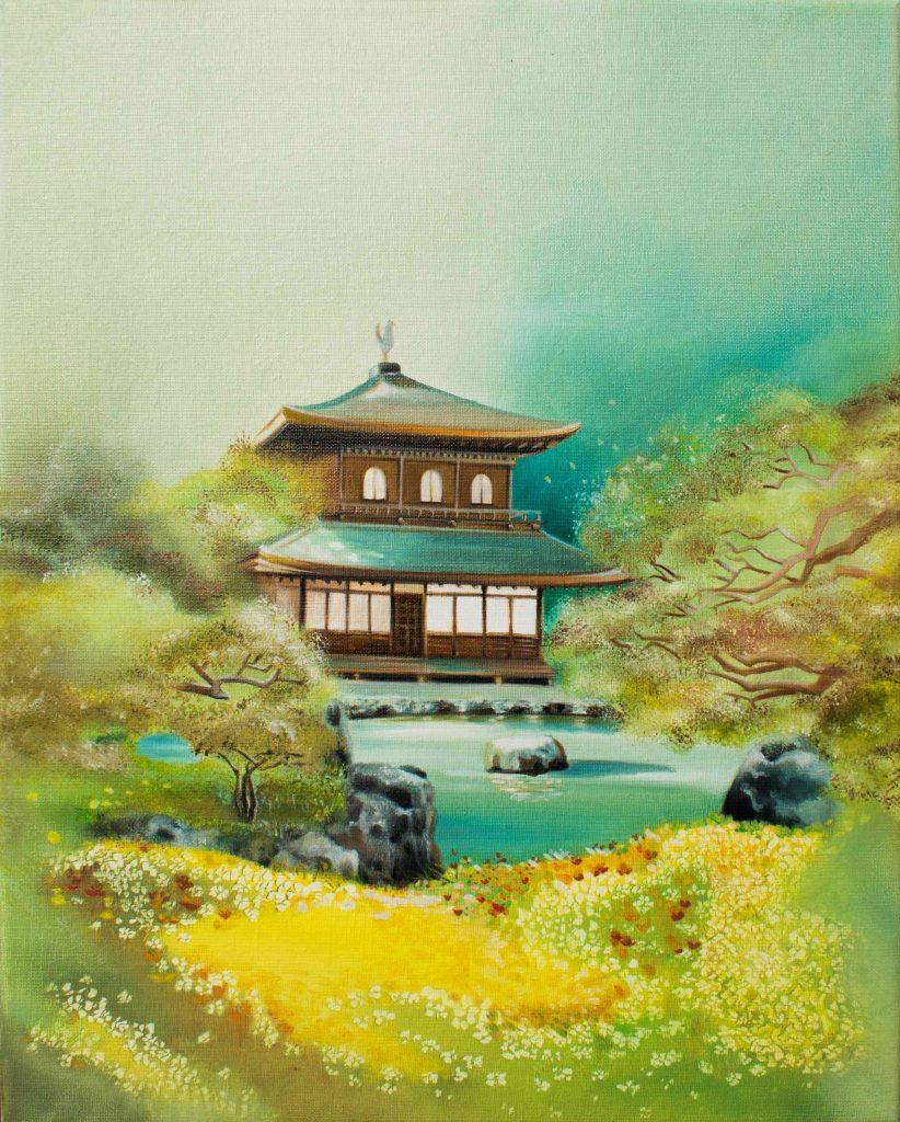 Złoty pawilon. Świątynia zen w Kioto